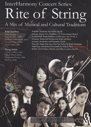 poster of interharmony concert