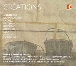 CD cover of Créations